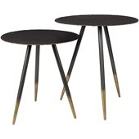 Dutchbone Stalwart Side Tables Set Of 2