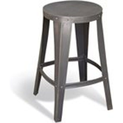 Steel Stool in Re-Engineered Design
