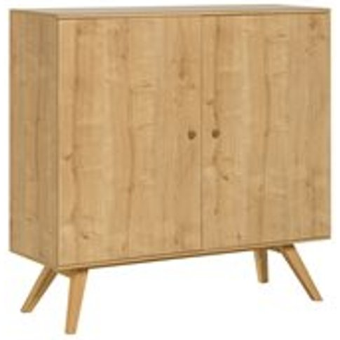 Vox Nature Large Wooden Sideboard In Oak Effect