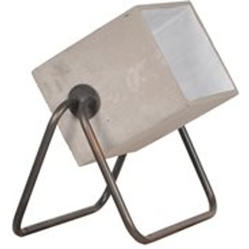 Zuiver Up Modern Floor Lamp in Concrete