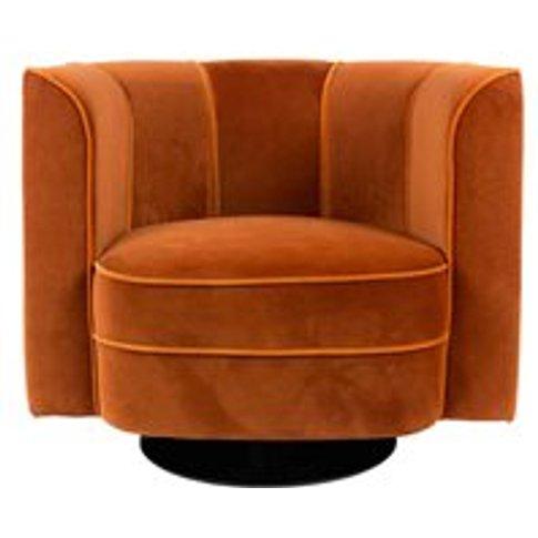 Dutchbone Flower Lounge Chair - Black