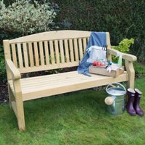 Forest Garden Harvington Bench - 4ft