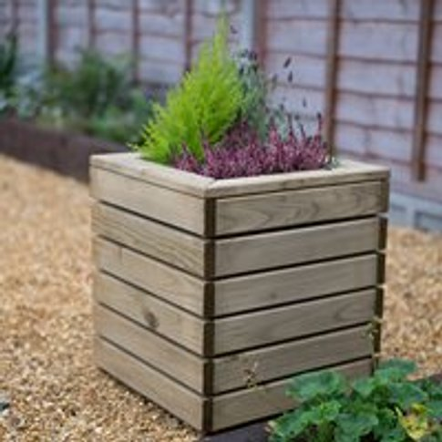 Forest Garden Linear Planter - Square