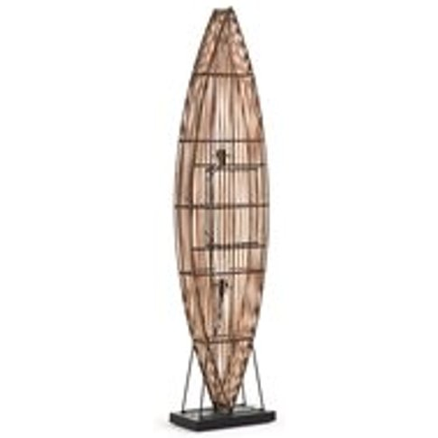 Columbus Floor Lamp In Rattan