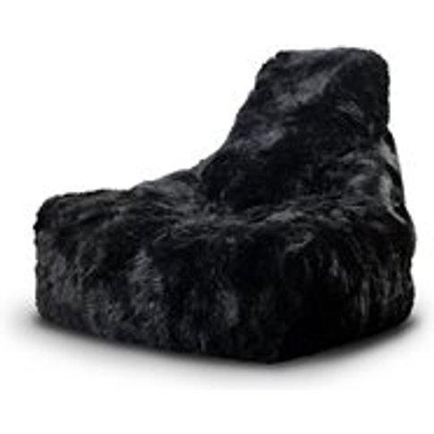 Extreme Lounging Mighty B Sheepskin Fur Bean Bag in ...
