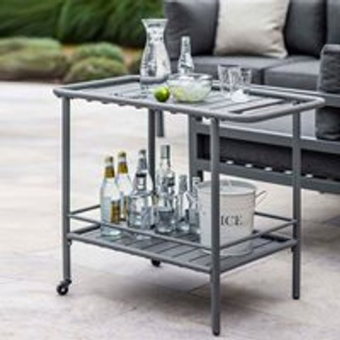 Garden Trading Drinks Trolley in Charcoal