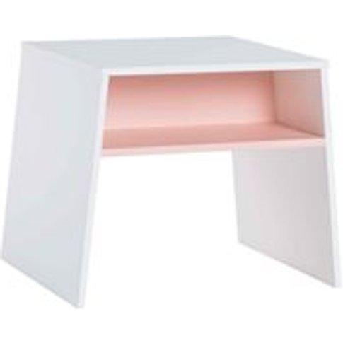 Vox Tuli Kids Stackable Desk in White & Pink - SECON...