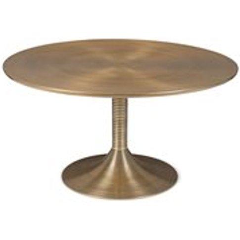 Bold Monkey Hypnotising Round Coffee Table