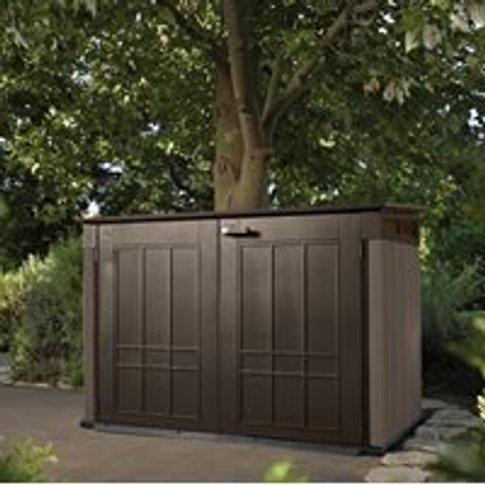 Keter Grande Store Outdoor Storage Box in Brown