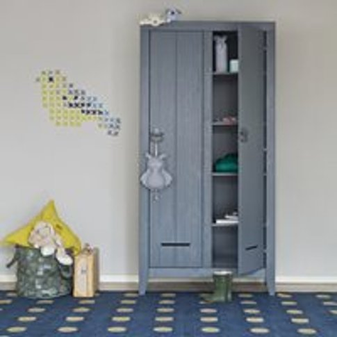 Kluis Locker Cabinet In Steel Grey By Woood