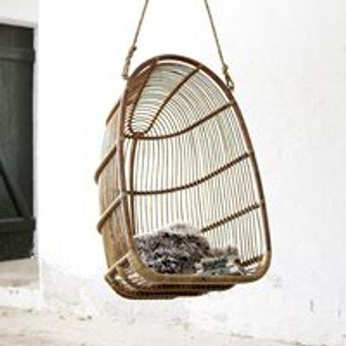 Sika Rattan Renoir Hanging Chair in Antique
