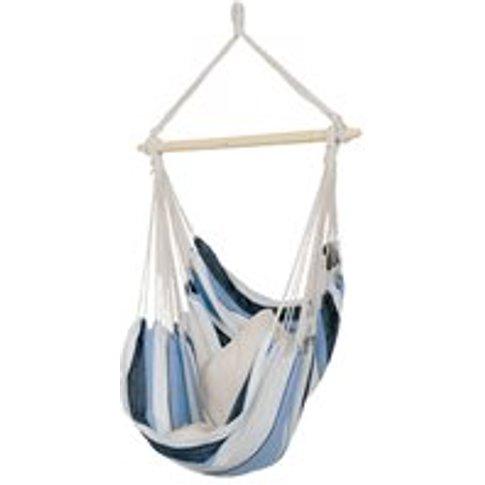 Havanna Hanging Hammock Chair in Blue