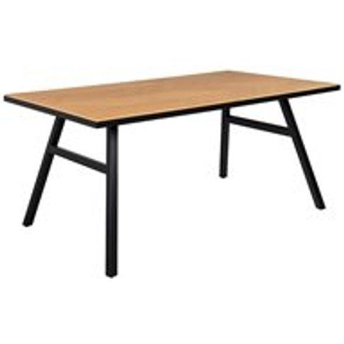 Zuiver Seth Herringbone Dining Table in Oak Veneer -...