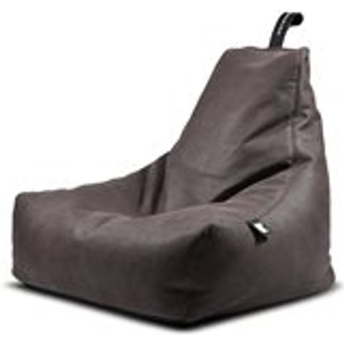 Extreme Lounging Mighty B Faux Leather Bean Bag In S...