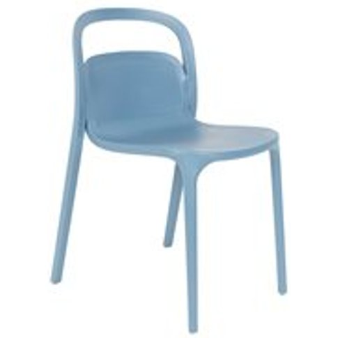 Pair of Rex Dining Chairs in Blue