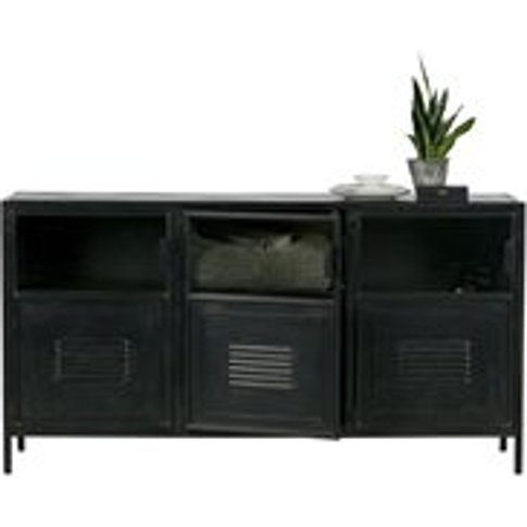 Ronja Industrial Metal Sideboard by Woood
