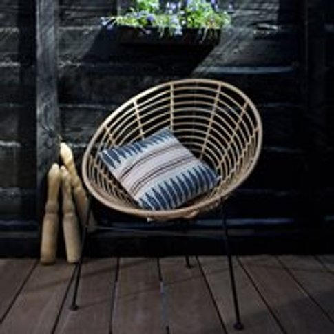 Jane Lounge Chair by Woood - Black