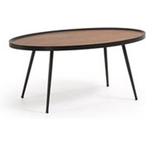 Kamelia Coffee Table In Walnut Veneer