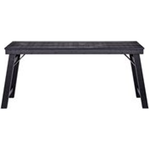 Klap Desk In Black By Woood