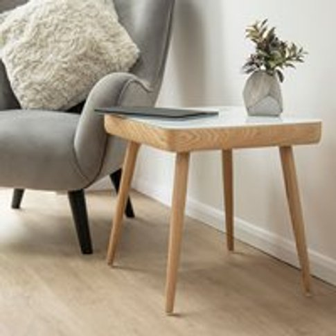 Koble Carl Smart Side Table With Speakers & Wireless...