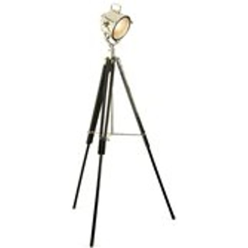 Culinary Concepts Tripod Floor Lamp In Industrial Ni...