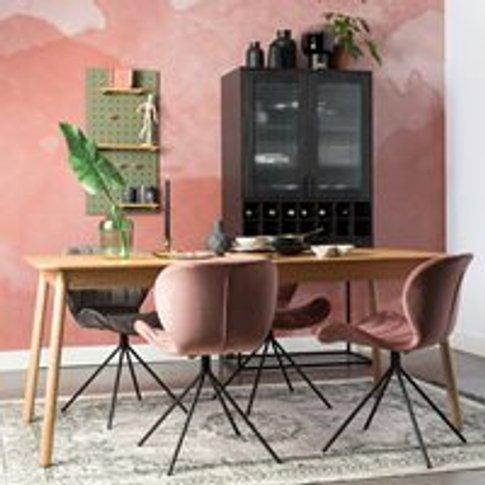 Zuiver Glimps Extending Dining Table in Ash Veneer -...