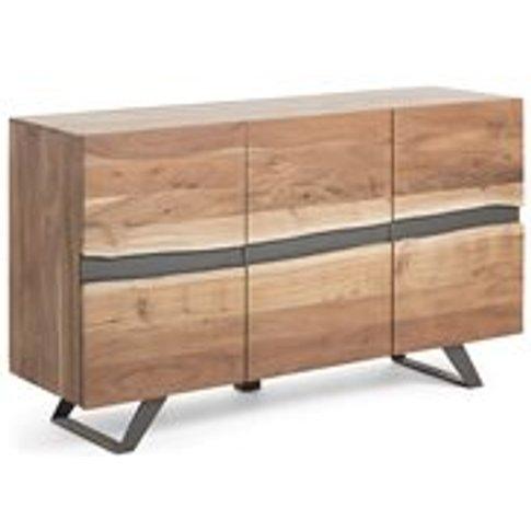 Irvin Large Acacia Wood Sideboard
