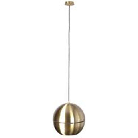 Zuiver Retro Ceiling Light In Metallic Gold