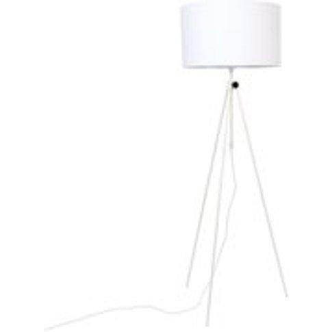 Zuiver Lesley Tripod Floor Lamp In White