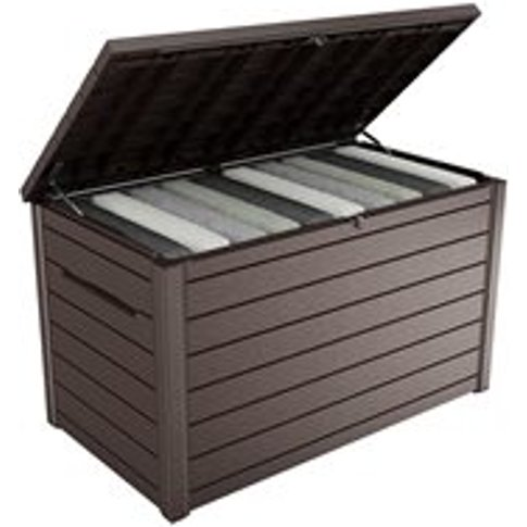 Keter Outdoor Xxl Deck Storage Box In Brown