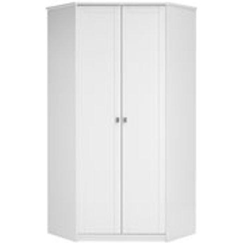 Lifetime Customisable Corner Wardrobe - Lifetime White