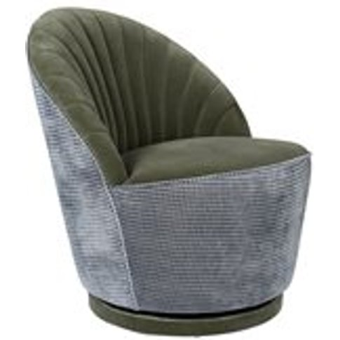 Dutchbone Madison Lounge Chair - Olive