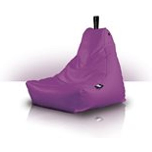 Extreme Lounging Mini Bean Bag in Berry