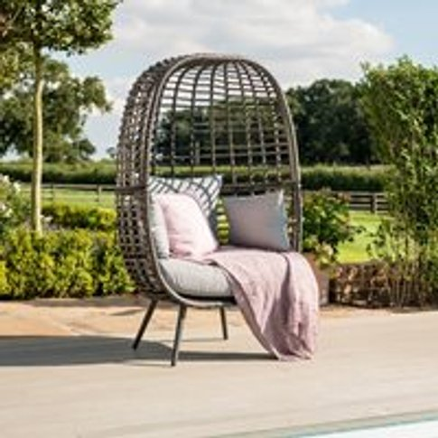 Maze Rattan Riviera Garden Chair - Brown