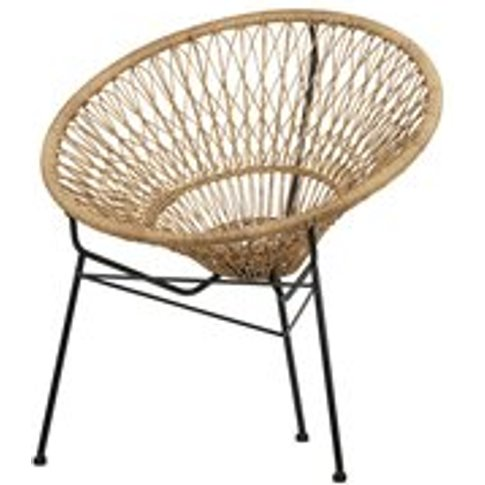 Woven Straw Hat Lounge Chair by Woood