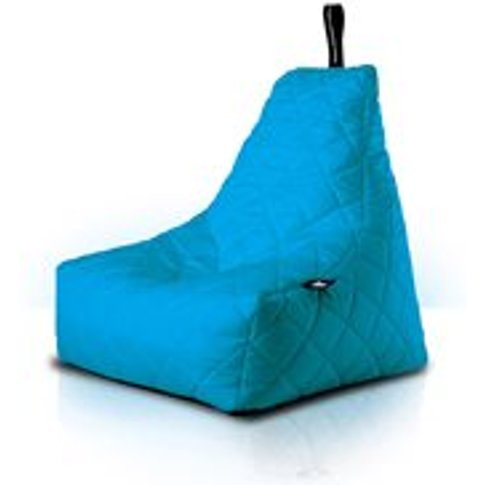 Extreme Lounging Mighty B Quilted Bean Bag in Aqua