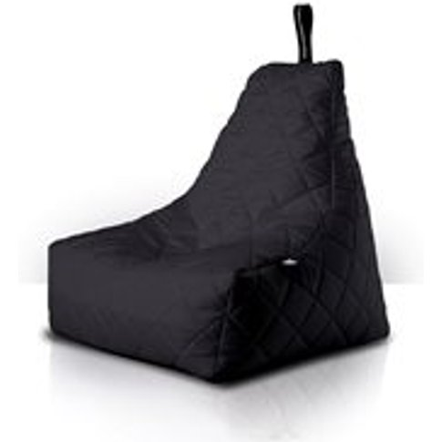 Extreme Lounging Mighty B-Bag Quilted Bean Bag In Black