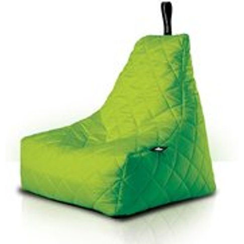 Extreme Lounging Mighty B-Bag Quilted Bean Bag In Lime