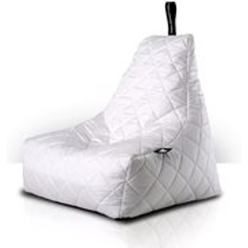Extreme Lounging Mighty B-Bag Quilted Bean Bag In White