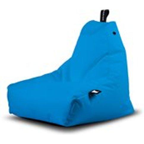 Extreme Lounging Mini B-Bag Outdoor Bean Bag In Aqua