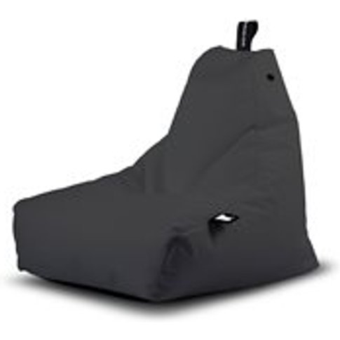 Extreme Lounging Mini B-Bag Outdoor Bean Bag In Grey