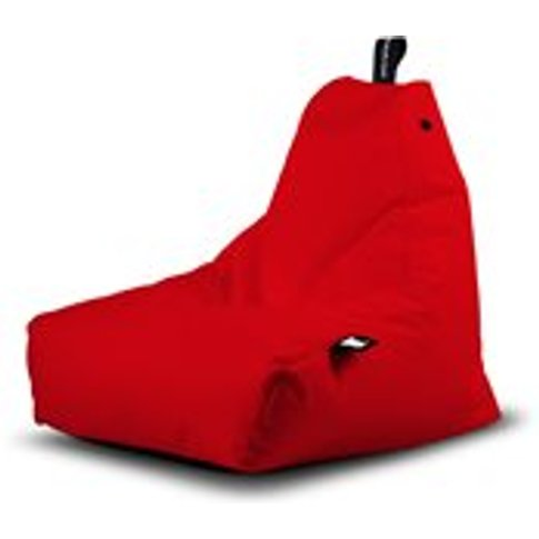 Extreme Lounging Mini B-Bag Outdoor Bean Bag In Red