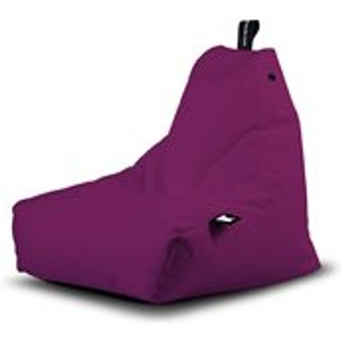 Extreme Lounging Mini B-Bag Outdoor Bean Bag in Berry