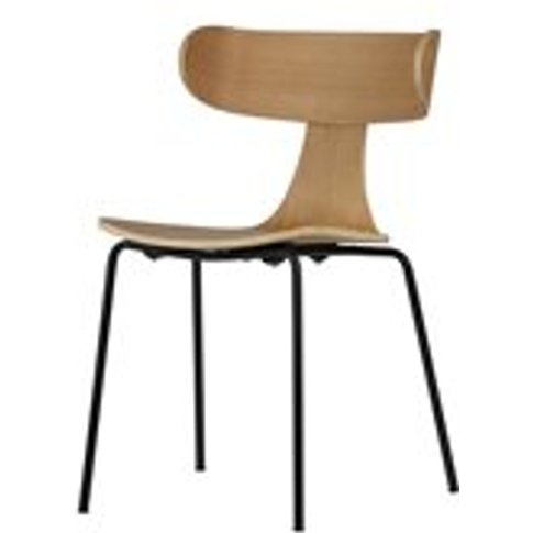 Form Wooden Dining Chair in Natural by BePureHome