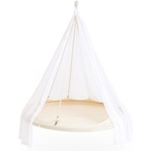 Tiipii Hammock Bed in Natural White - 1.5m - Nomad
