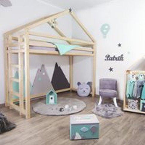 Benlemi Toppy Loft Bed - White