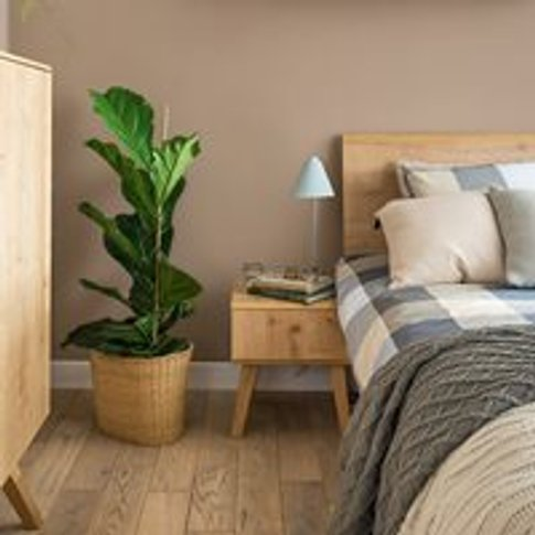 Vox Nature Bedside Table In Oak Effect