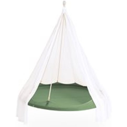 Tiipii Hammock Bed In Green - 1.8m - Nester