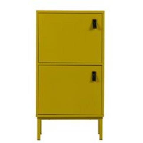 Nico Cabinet by Woood - Mustard