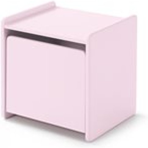 Kiddy Bedside Table In Old Pink